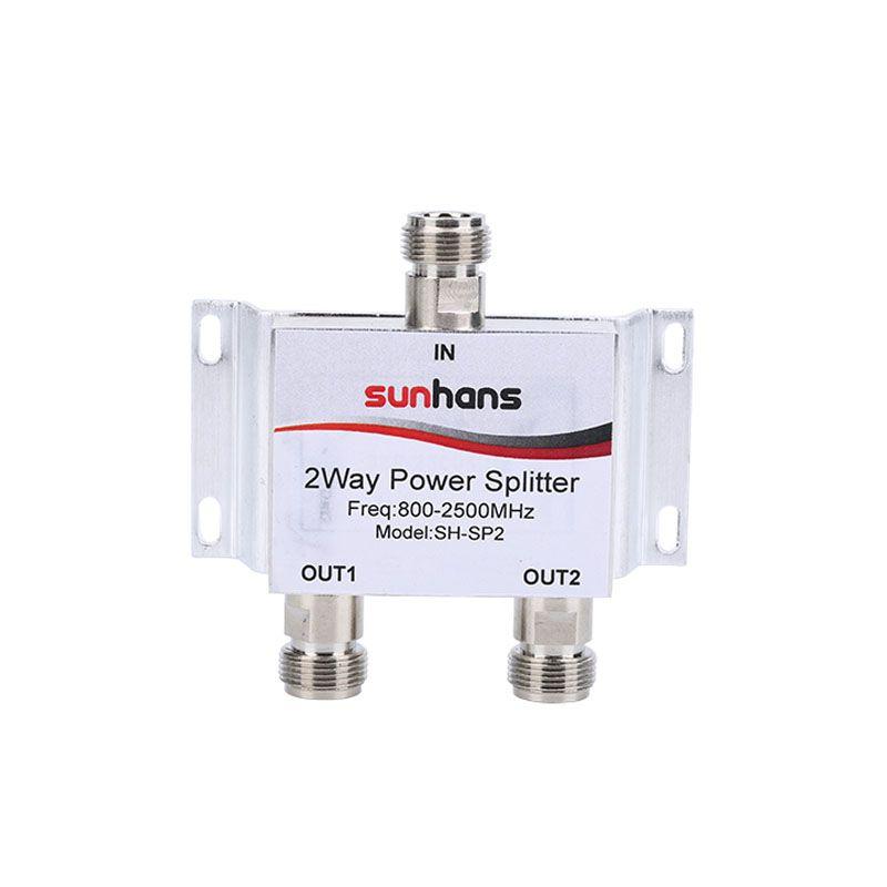 Sunhans Nouvelle 800 ~ 2500 MHz N 2-way RF Diviseur de Puissance Splitter Pour GSM et CDMA et DCS 3G 4G Téléphone Mobile Répéteur de Signal