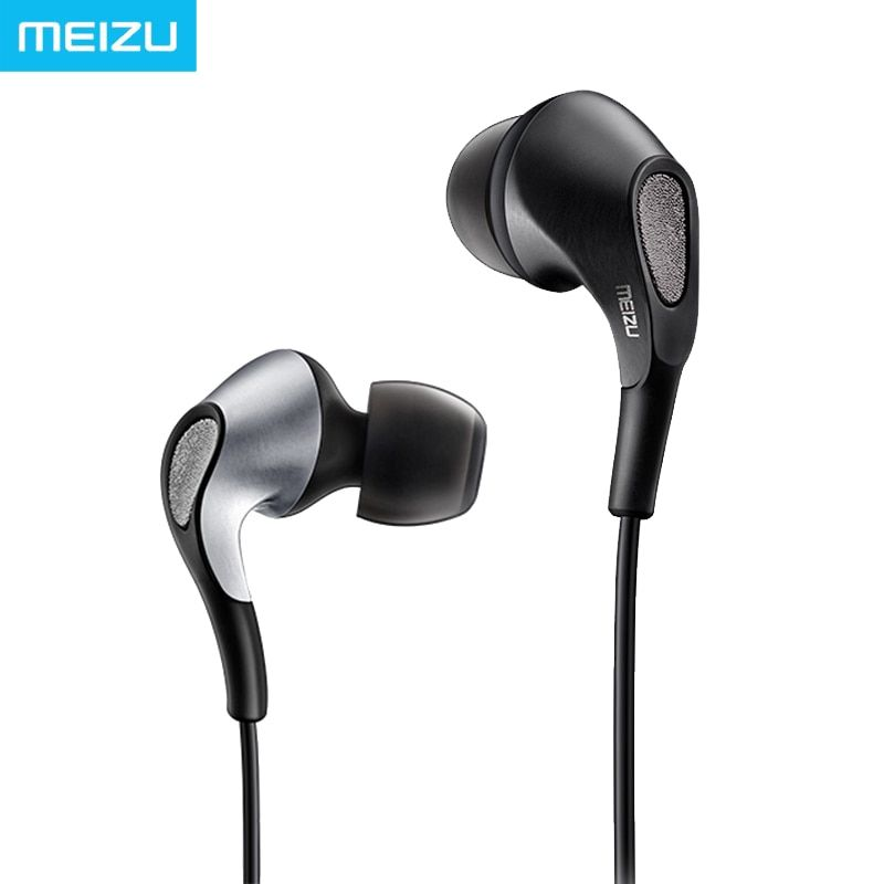 Meizu Flow Earphone In Ear Knowles Triple Driver Hybrid Armatures Dynamic Bass Venting System HIFI Monitor Sound earbuds
