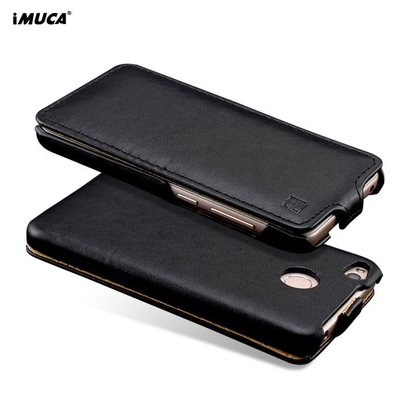 iMUCA Flip Phone Case For Xiaomi Redmi 4x Case Silicone Soft Leather Wallet Case Redmi Note 4X Cover For Xiaomi Redmi 4x Pro