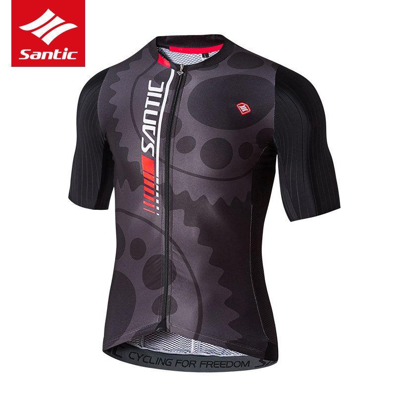 Santic hommes cyclisme Maillot 2019 Pro équipe descente vtt route vélo Maillot respirant vélo Maillot Cycle vêtements Maillot Ciclismo