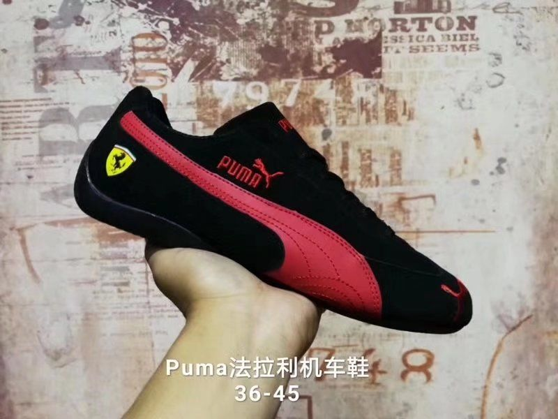 New Arrival 2017 Puma Ferrarimotorcycle shoes Creepers women's and men shoes Breathable Sneakers Badminton Shoes Size36-44