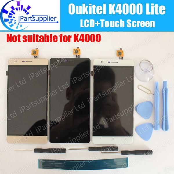 <font><b>Oukitel</b></font> K4000 Lite LCD Display+Touch Screen Assembly 100% Original LCD Digitizer Glass Panel Replacement For <font><b>Oukitel</b></font> K4000 Lite