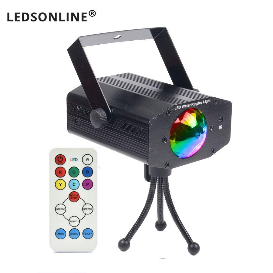 Video heißer verkauf neue multi farbe led-lampe musik Laser Bühne Lichter Beleuchtung Unterstützung IR remote DJ Party Home Hochzeit club Projektor