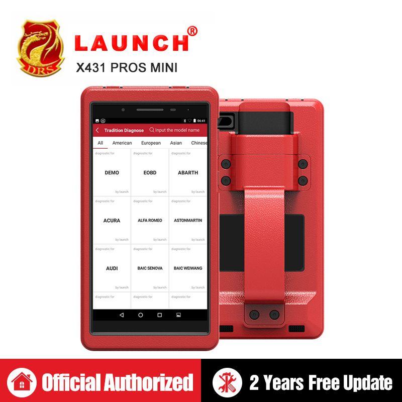 Starten X431 Pro Profis mini OBD2 Diagnose WiFi Bluetooth OBDII Diagnose Scanner ECU Codierung Automotive Werkzeuge wie Launch x431 V 8