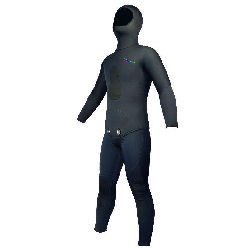 Super qualität 7mm Gummi Neopren Anzug Neoprenanzug Männer Frauen für Speerfischen Unterwasser Jagd Tauchen Winter Angeln Muta