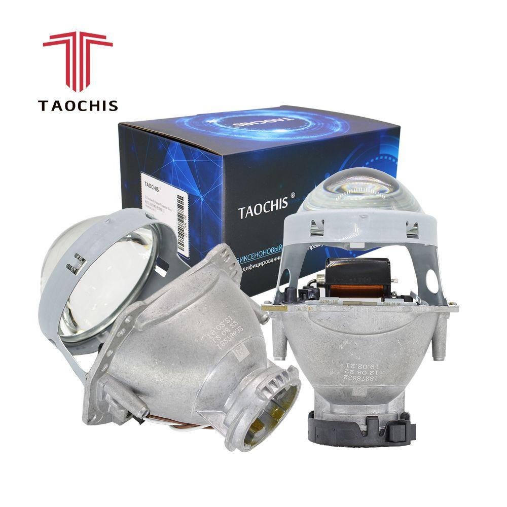 TAOCHIS 2 pièces de Phare De Voiture Automatique 3.0 pouces bi-xénon Hella 3R G5 5 lentille de Projecteur de voiture De tête lumière Modifier D2s