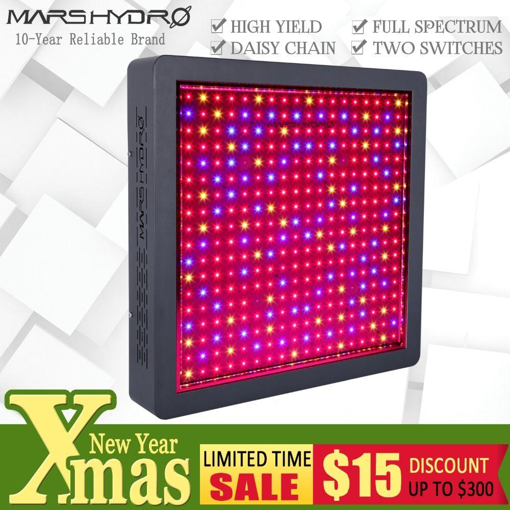 Mars Hydro Mars II 1600 Volle Geführte spektrum Wachsen Licht für Indoor Garten Hydro System Hydrokultur Veg Blume Pflanzen Medizinische