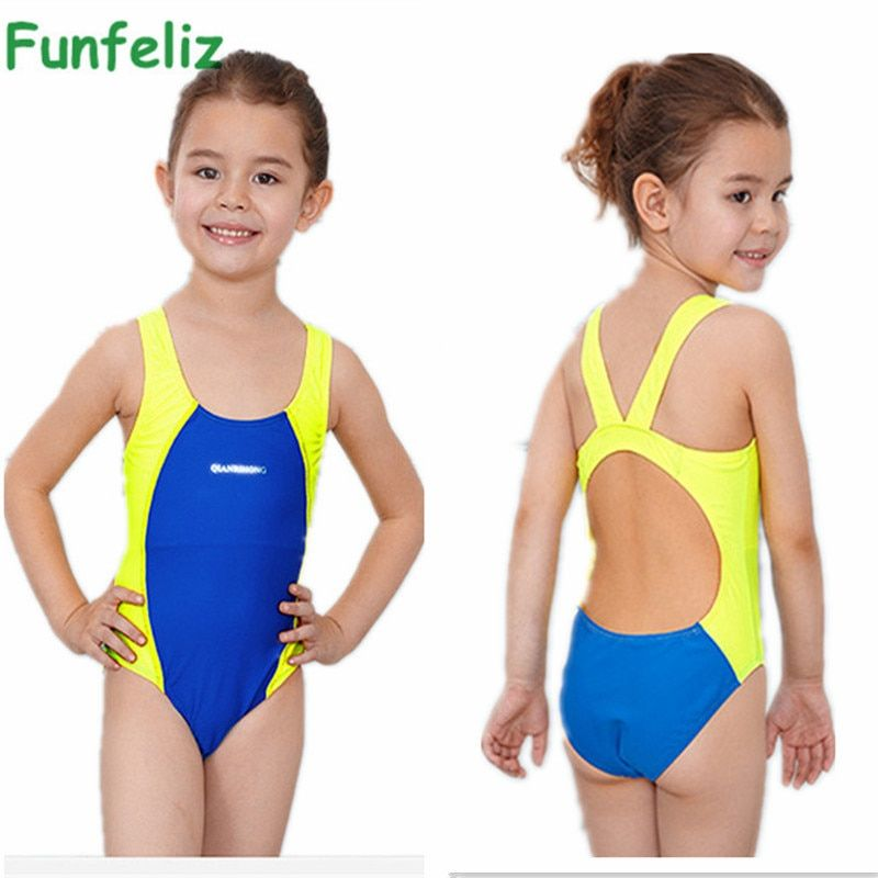 Kids Swimmer girls bathing suit infantil swimwear for girls bathers children one piece swimwear lovely girl sport swimsuit 3-10T
