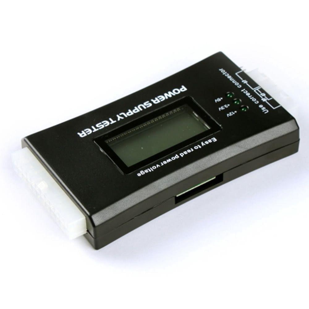 1 Stücke Beliebte Neue Computer PC Stromversorgung Tester Checker 20/24 pin SATA HDD ATX BTX Meter LCD