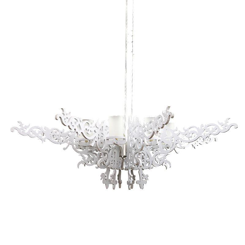 Wonderland Modern Chandelier Milan Angel Wings European Elegance Lamp White Dia100cm G9 Lighting 110V/220V 2016 New Hot PLL-8