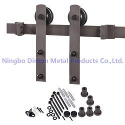 Бесплатная доставка Dimon Горячая продажа Высококачественная деревянная раздвижная дверь оборудование DM-SDU 7207 без рельса