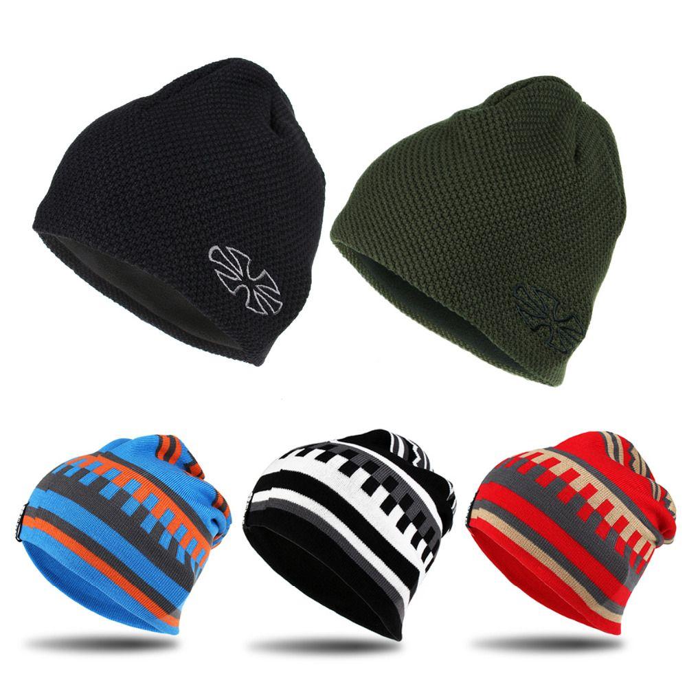 Унисекс новый бренд Лыжный спорт Сноуборд шапки теплые зимние Вязание Шапки для Для мужчин и Для женщин Skullies и шапочки Шапки для походов