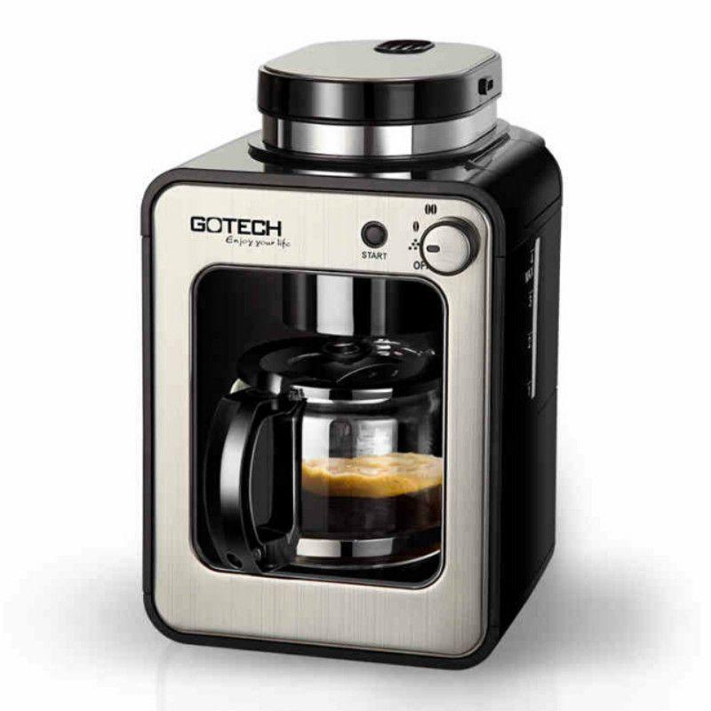 Kaffee Maschine Kaffeekanne Kaffee Digester Kaffee Bean Grinder Grinder Multifunktions Intelligente Steuerung Automatische Schleifen