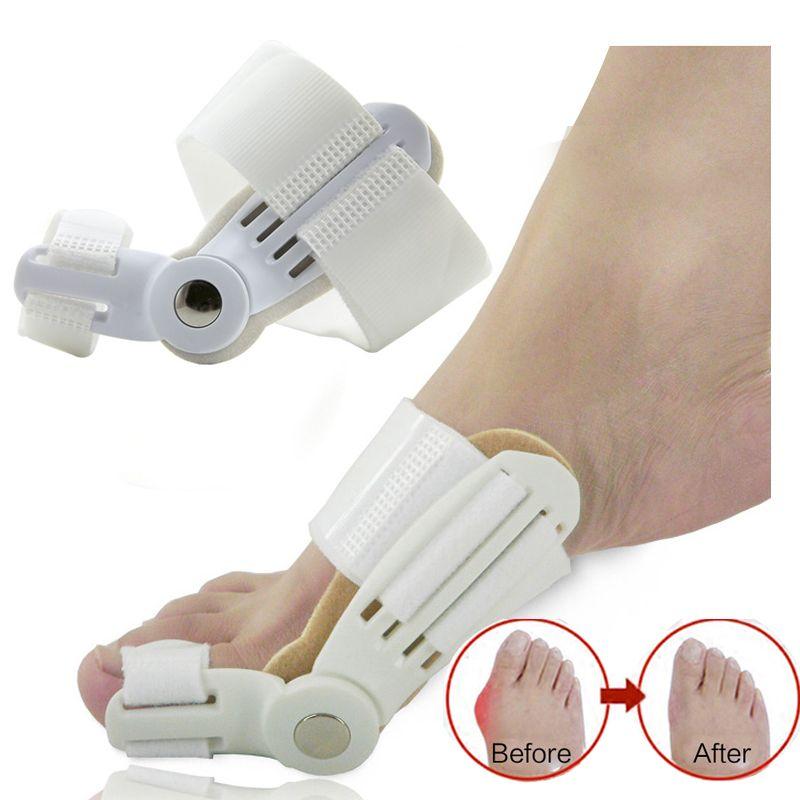 Hallux Valgus Orthotics Big Toe Corrector Foot Pain Relief Feet Care Bone Bunion Corrector Night and Day Used Splint Pedicure