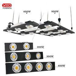 CREE CXB3590 200 W 300 W 400 W 600 W 900 W COB regulable LED crecen luz espectro completo LED lámpara creciente planta de interior iluminación crecimiento
