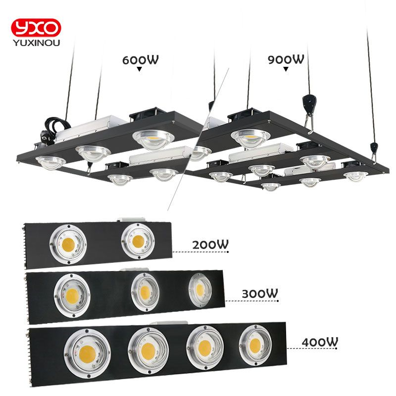 CREE CXB3590 200W 300W 400W 600W 900W COB Dimmable LED Grow Light Full Spectrum LED Growing Lamp Indoor Plant Growth Lighting