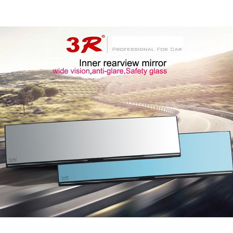 High Quality 3R Car Rearview Mirror Auto Reverse Back Parking Reference Rear Dimming Mirrors Wide Angle Interior Mirror 1 Piece