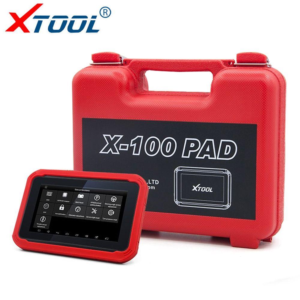 XTOOL X100 PAD Auto Schlüssel Programmierer für Autos OBD2 Scanner DPF BMS Gas Reset Auto Diagnose Scan Tool Laufleistung Korrektur werkzeug