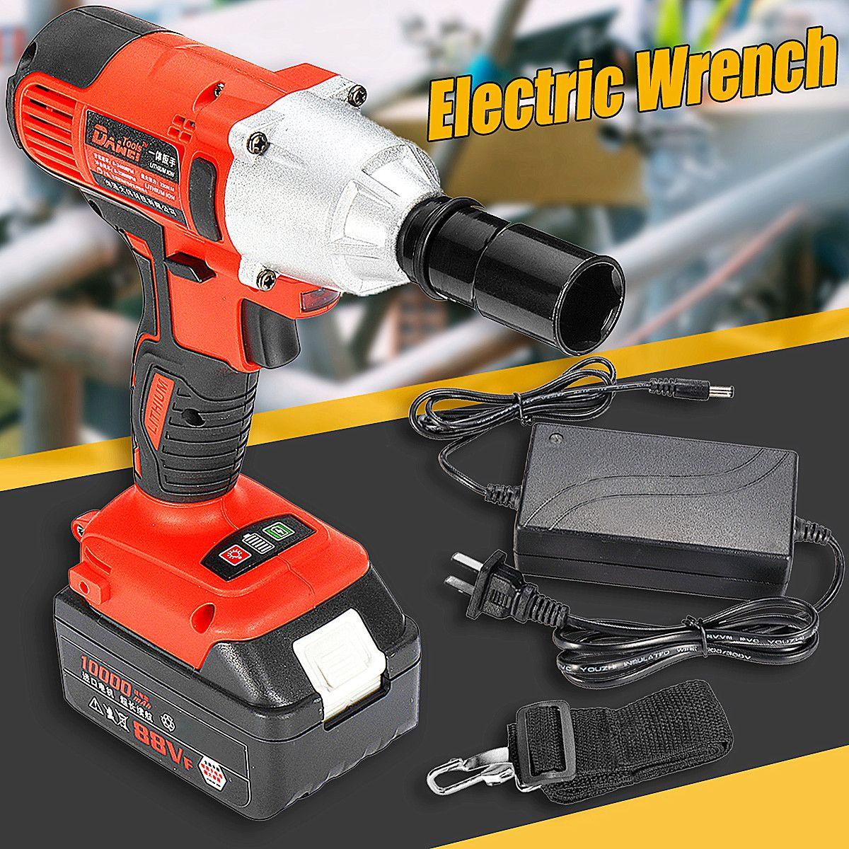 330N. M Cordless Elektrische Wrench Auswirkungen Steckschlüssel 21 v 10000 mah Li Batterie Hand Bohrer Installation Power Werkzeuge Neue Ankunft