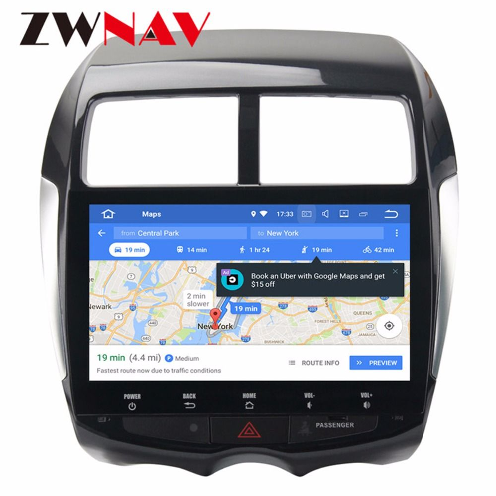 Android 8.0 PX5 8 Core 4Gb+32Gb IPS Screen GPS autoradio navigation head unit multimedia for Mitsubishi ASX Citroen C4 2din 2din