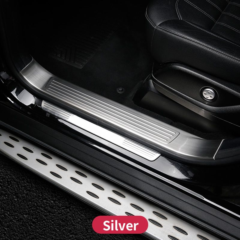 For Mercedes Benz GLE W166 350d GLE coupe C292 amg GLE Mercedes Door Sill Scuff Plate Welcome Pedal Trim Cover Accessories