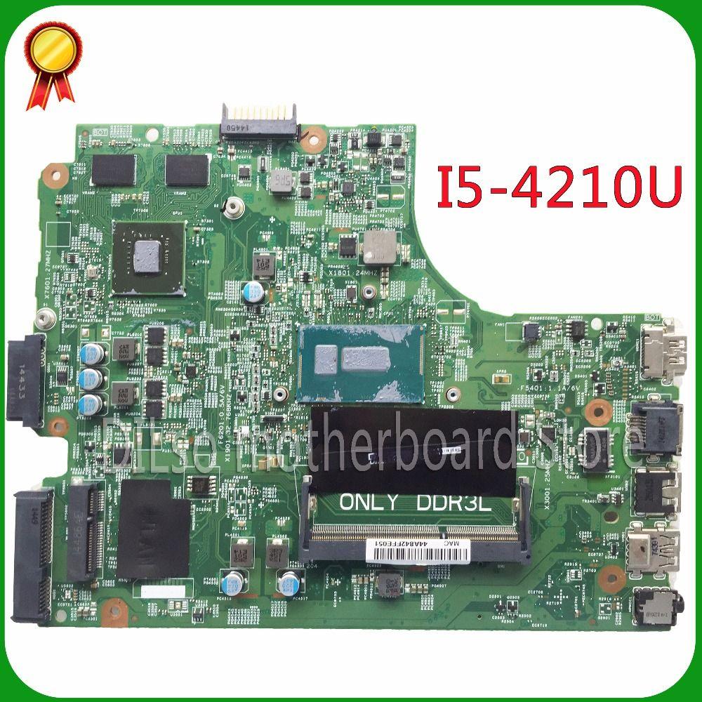 KEFU 13269-1 Für DELL inspiron 3542 DELL 3542 3442 5749 motherboard 13269-1 PWB FX3MC REV A00 motherboard I5-4210 PM