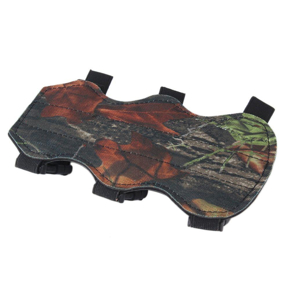 Стрельба из лука рука гвардии Защита предплечья безопасных 3-ремень Camo кожа Новые Бесплатная доставка