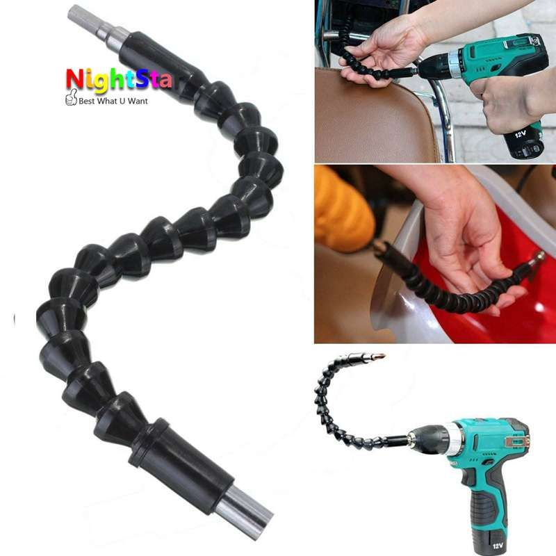 295mm Flexible Shaft Connecting Link For Electric Drill Connection Shaft Bits Extention Screwdriver Power Tools
