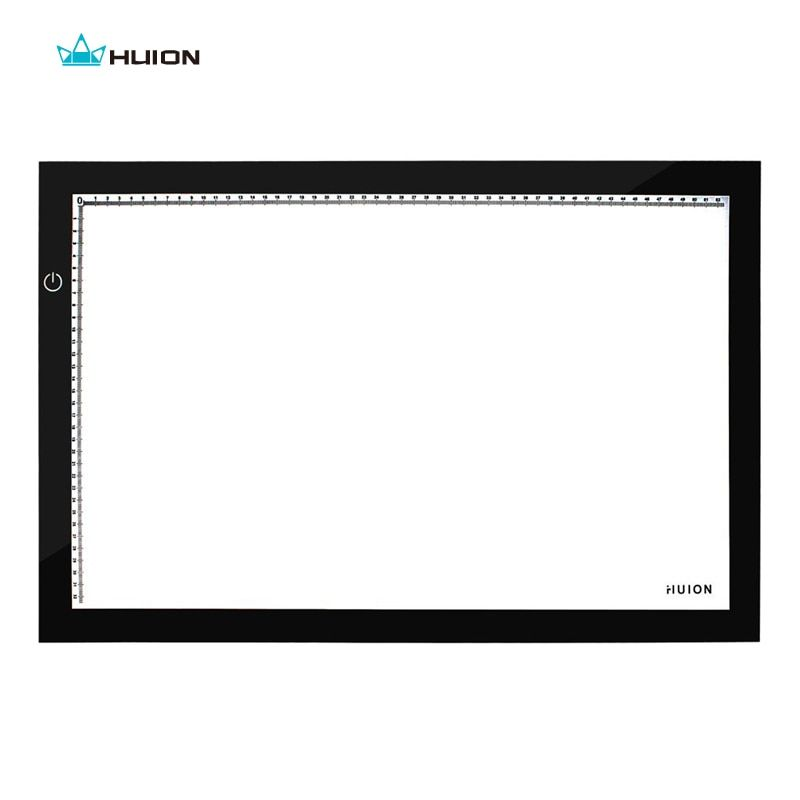Hot Sale New Huion A2 LED Tracing Boards Ultra Thin Light Pads Professional Animation Tracing Light Boxes LED Light Pad Panels