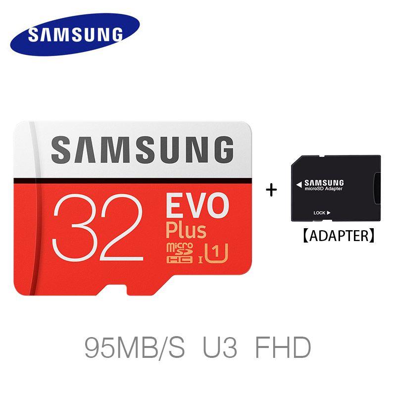 Samsung 100 MB/S tarjeta Micro SD 64 GB 256 GB 128 GB 32 GB memoria Class10 U3 flash TF tarjeta microSD para el teléfono con mini SDHC SDXC