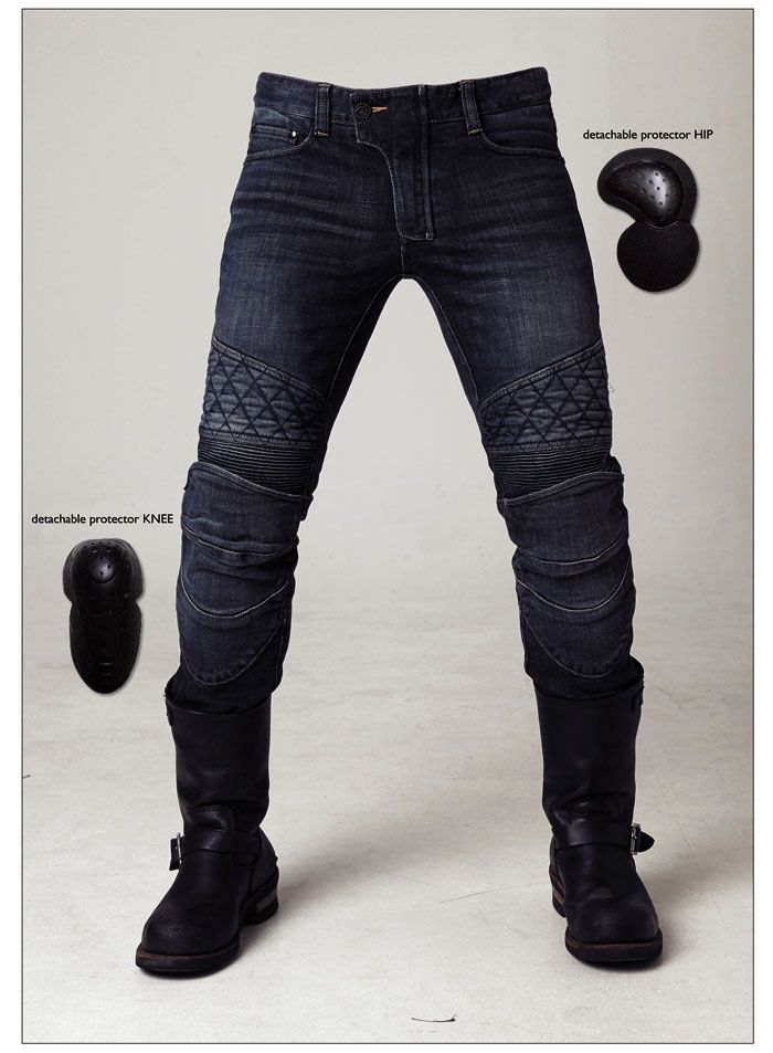 2016 new arrival motocross pants duhan ton up pants jeans uglybros motorcycle road horse with four sets of protective equipment