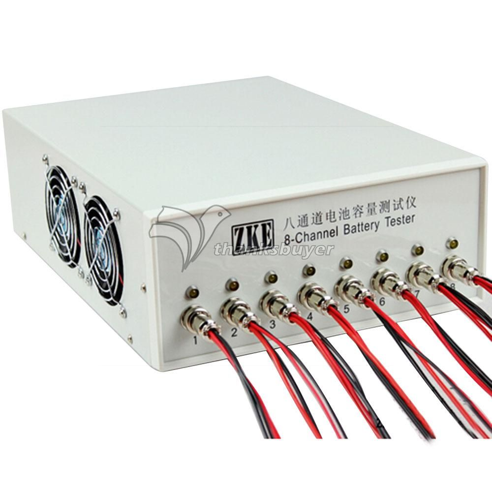 EBC-X0510 Probador Capacidad de La Batería de 8 Canales 10A de Carga Del Ciclo de Prueba de Rendimiento
