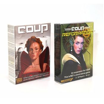 Coup Full English version basic game board game party cards family