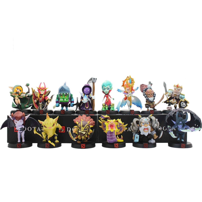 WOW DOTA 2 figurine de jeu chasseur de primes BH Strygwyr Krobelus toxique Warlock ombre juggernaut âme gardien figurines d'action dota2 jouets