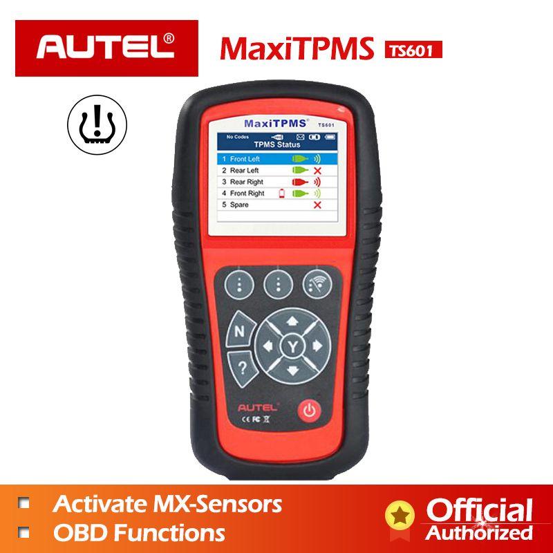 AUTEL MaxiTPMS TPMS TS601 TS401 Diagnose Werkzeug PAD MX sensor Programmierung Werkzeug MX-sensor 433 315 OBD2 Scanner Automotive scanner