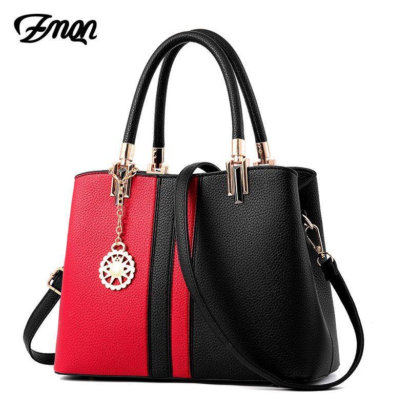 ZMQN Handbags Bag for Women Leather Handbags 2018 Brand Hard Hand Bag Cheap Wholesale Crossbody Shoulder Bags Female Bolsas A834
