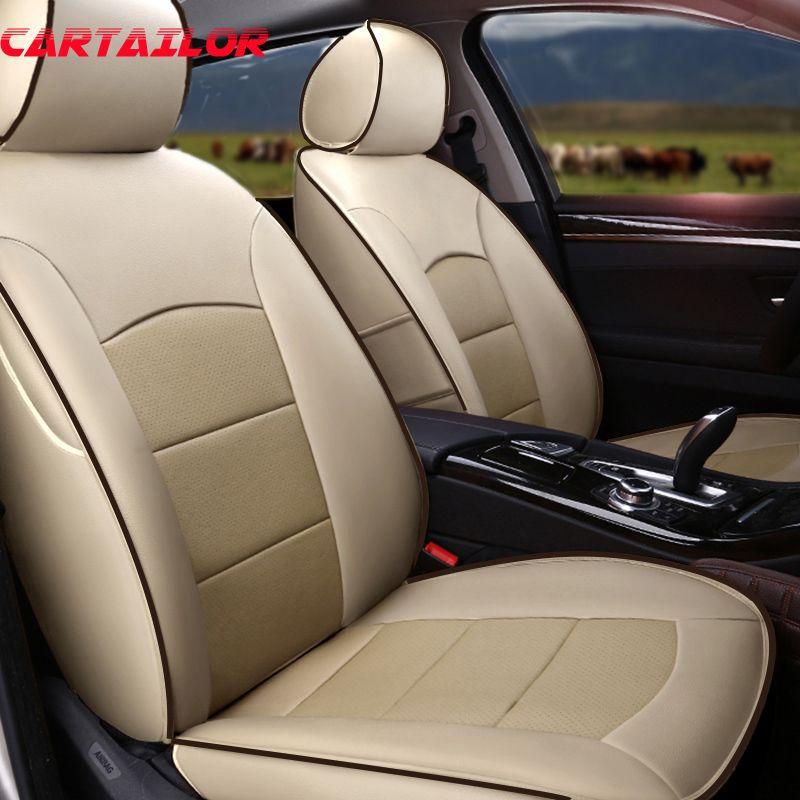 CARTAILOR Echtem Leder Auto Sitzbezüge Autos Zubehör für BMW Z4 e89 e85 Sitz Abdeckung Rindsleder Sitze Kissen Unterstützt Styling