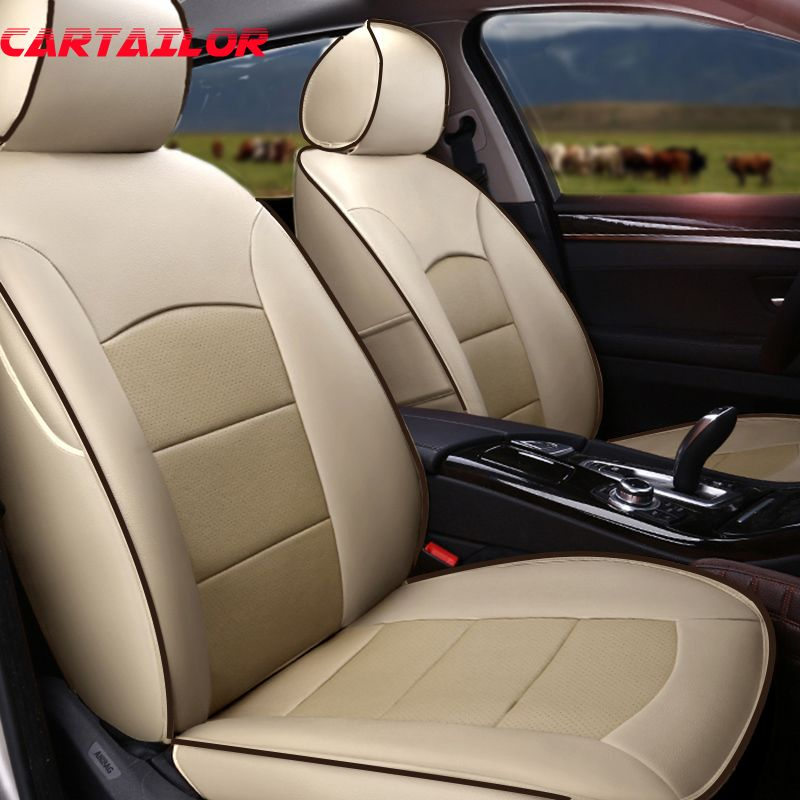 CARTAILOR Genuine Leather Car Seat Covers Cars Accessories for BMW Z4 e89 e85 Seat Cover Cowhide Seats Cushion Supports Styling