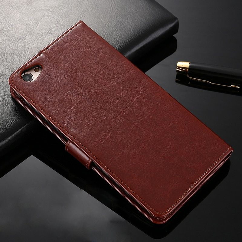 Redmi Note 5A 2GB 16GB Cover HQ Flip Wallet Leather Cover for Xiaom Redmi Note 5A Prime 6 6A Pro A2 lite Plus A1 S2 Pocophone F1