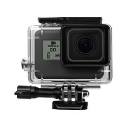 45M Underwater Waterproof Protective Housing Case with Quick Release Mount and Thumbscrew for GoPro HERO 5 Action Camcorder