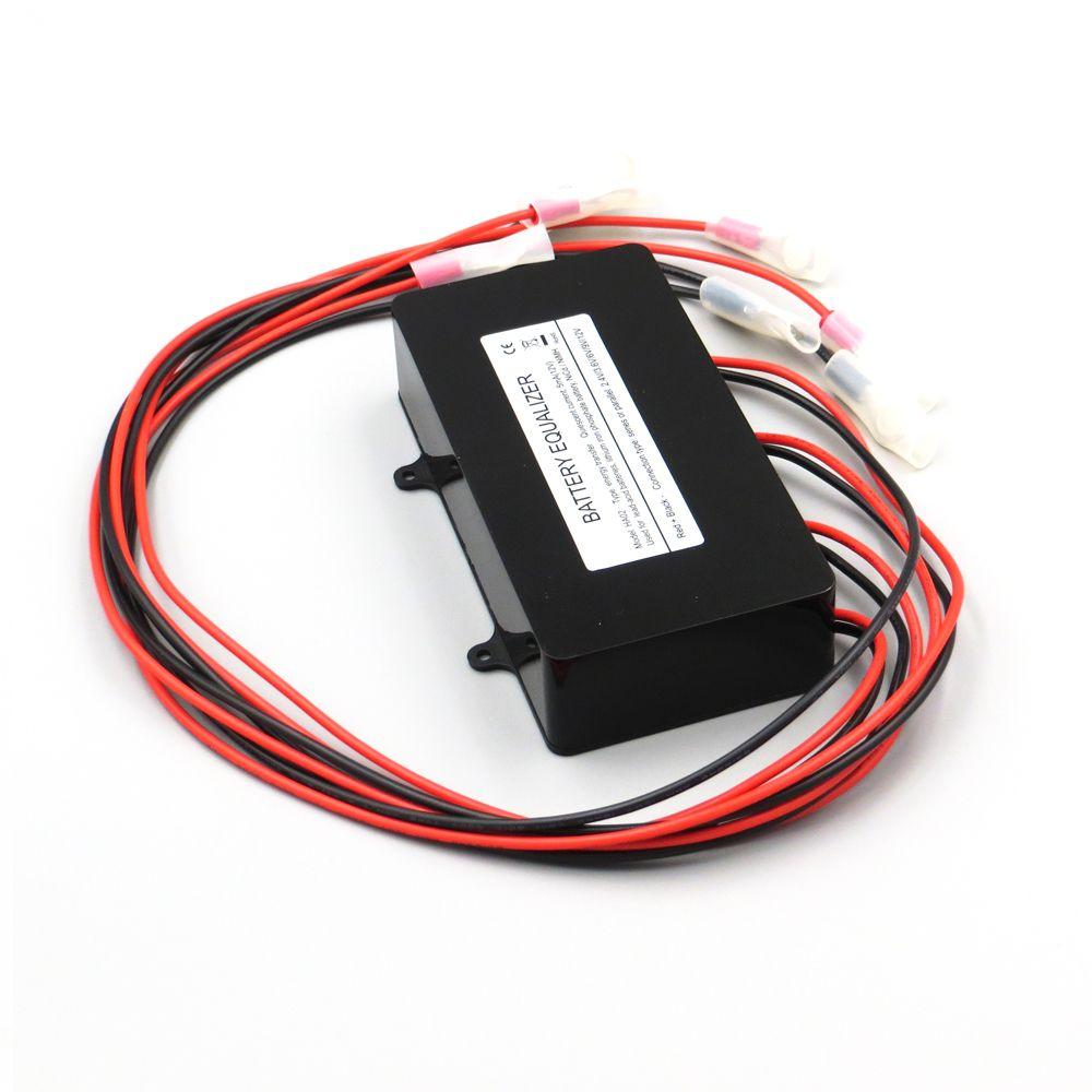 Battery equalizer HA02 4 X 6V | 9V | 12V used for lead-acid batteris Balancer charger controller solar