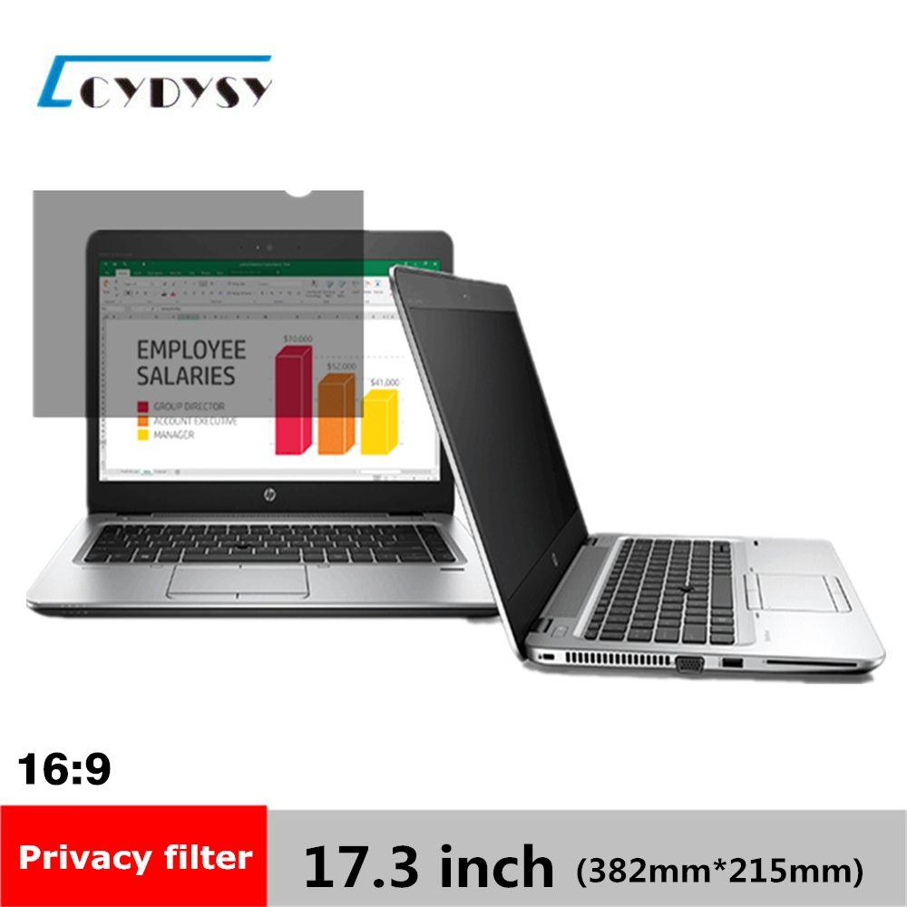 17.3 pouce Filtre de Confidentialité Écran Protecteurs Film pour Écran Large 16:9 Portable 15 1/16