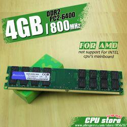 Nouveau 4 GB DDR2 PC2-6400 800 MHz Pour PC De Bureau DIMM Mémoire RAM 240 broches Pour AMD Système Haute Compatible