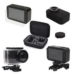 Hard storage bag+Waterproof Housing Case+Frame Shell Cover+ Skin Case Cover+Lens Cap Protector Film for xiaomi Mijia 4K Camera