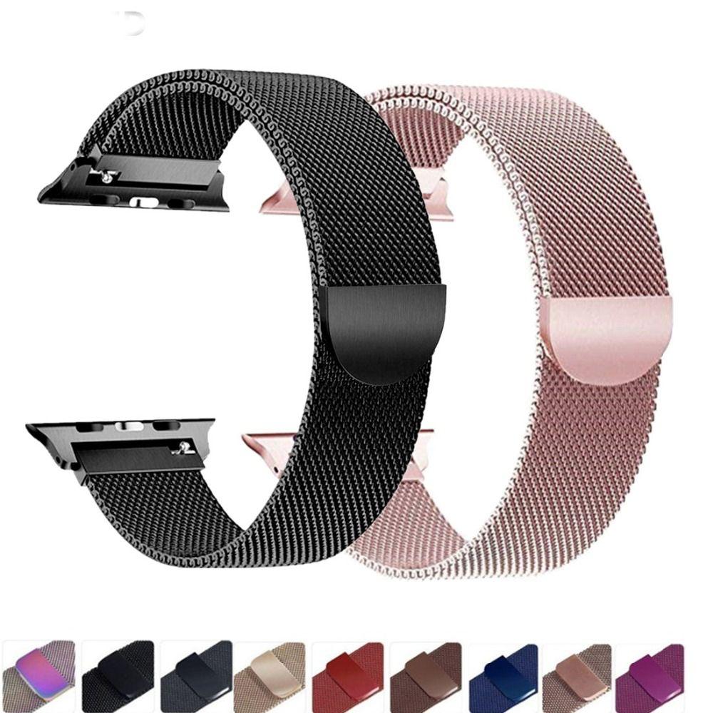 Milanese Loop strap For apple watch band 44mm 40mm iwatch band 42mm 38mm apple watch 4/3/2 Accessories Stainless Steel Bracelet