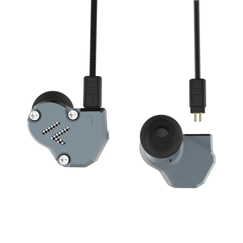 Newest Yinyoo Revonext QT2 2DD+1BA Hybrid In Ear Earphone HIFI Bass Monito <font><b>Running</b></font> Sport Earphone Headset Earbud KZ ZS6 ZS10
