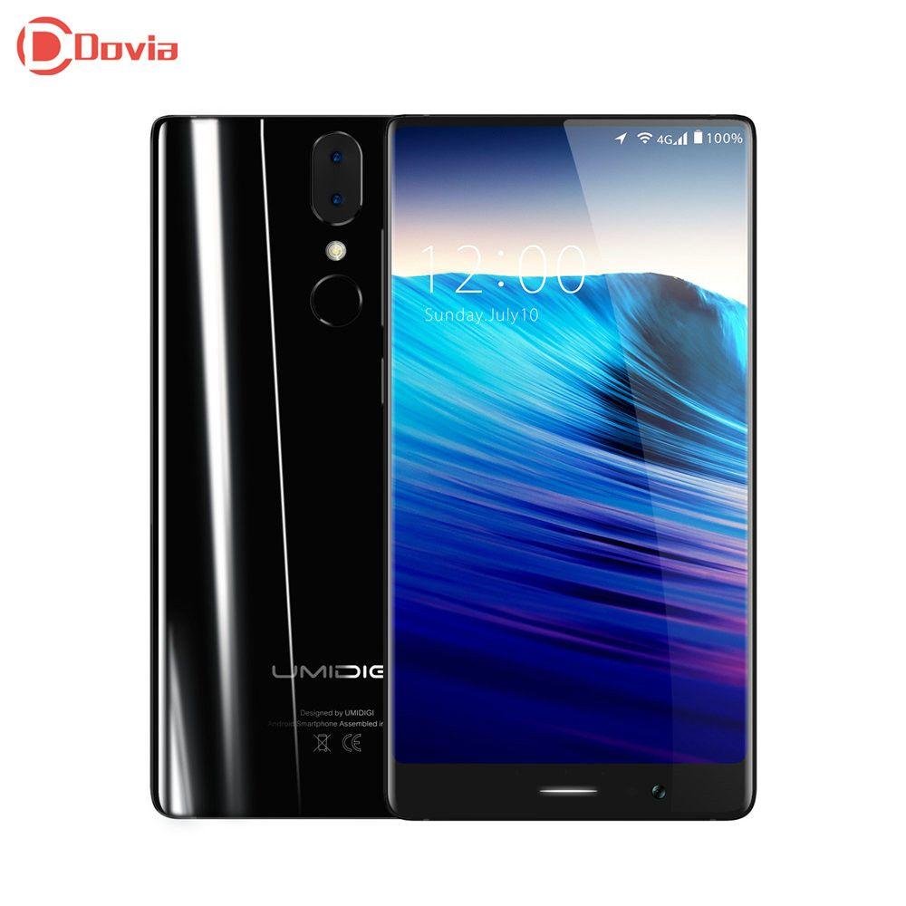 UMIDIGI Cristal 4G Smartphone Android 7.0 5.5 pouce FHD Écran Quad Core 2 GB 16 GB ROM D'empreintes Digitales Scanner USB Type C téléphone