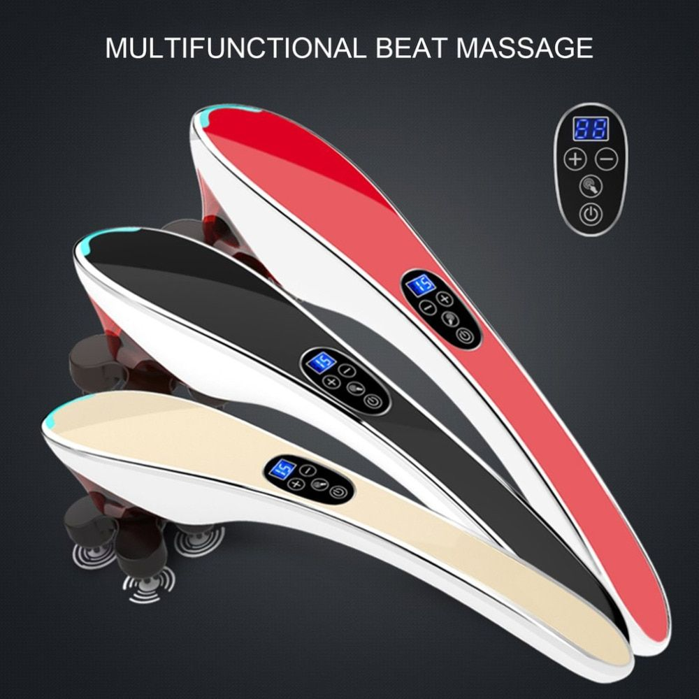 Electric Neck Massager Infrared Massage Body Relaxation Multifunctional Cervical Vertebra Massager Massage Full Body Relaxation
