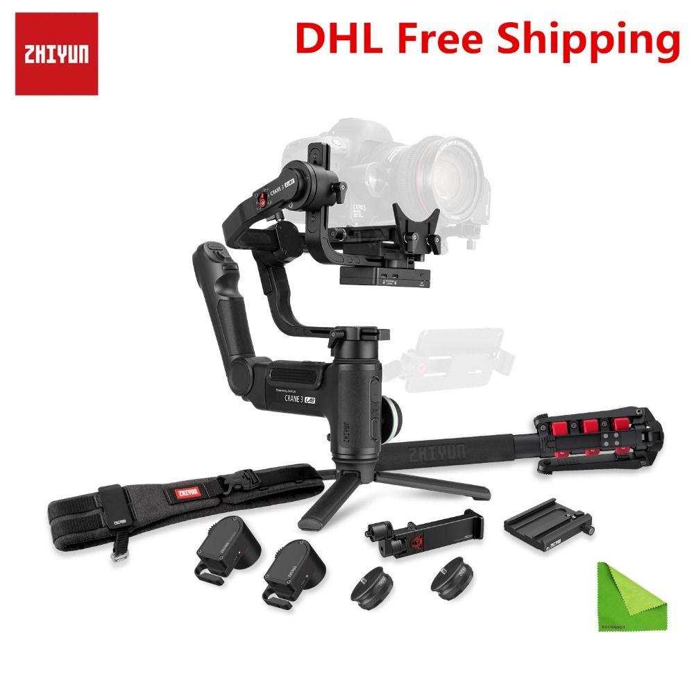 Zhiyun Kran 3 LAB 3-achse Handheld Gimbal für Sony A7M3 A7R3 A6500 A7R2 Canon Panasonic GH4 GH5S Nikon DSLR Kamera Stabilisator