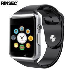 Rinsec A1 Smart Montre Bluetooth Montre-Bracelet Soutien SIM TF Carte avec Caméra Passometer